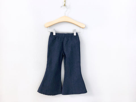 BLOWOUT: Bell Bottom Denim Pants
