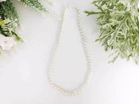 "BLOWOUT Infant 10"" Pearl Necklace"