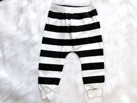 BLOWOUT Black and White Pants