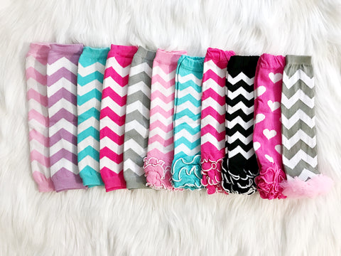 BLOWOUT Girl's Leg Warmers Grab Bag