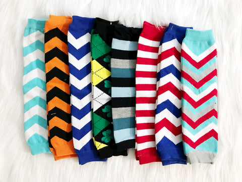 BLOWOUT Boy's Leg Warmers Grab Bag