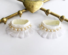 Ivory Pearl Anklet