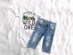 Supporting Wildlife Rustic Wild Birthday Matching Family Tops