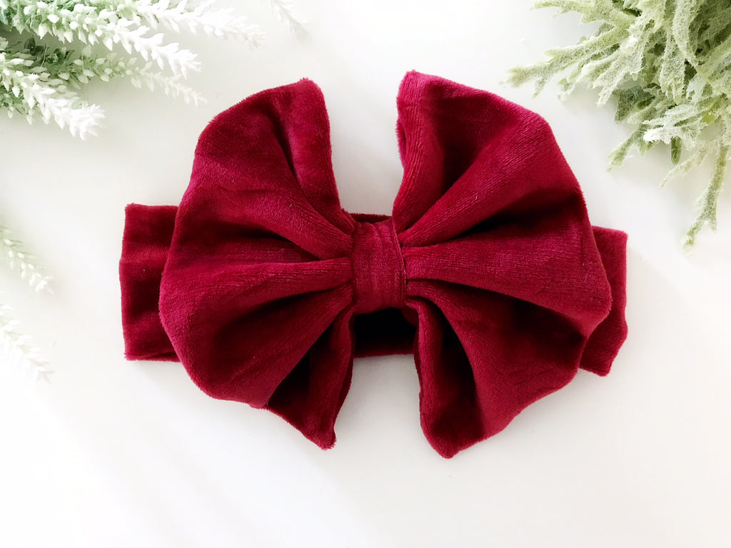 Red Velvet Headband – Squishy Cheeks f5ea36736ac