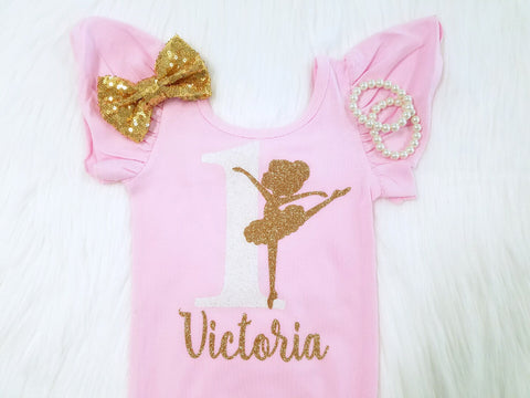 Ballerina Birthday Leotard