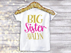 Little Brother Big Sister Shirt Pack