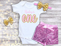 Girl's Design Your Own Personalized Birthday Top