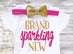 Brand Sparkling New Newborn Take Home Bodysuit