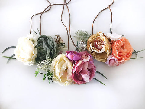 Floral Crown Headbands