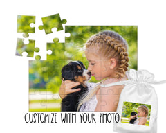 Custom Photo Puzzle, WITH YOUR OWN PHOTO