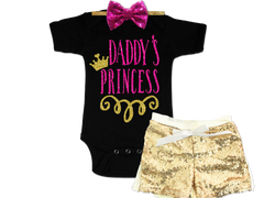 Girl's Daddy's Princess Outfit