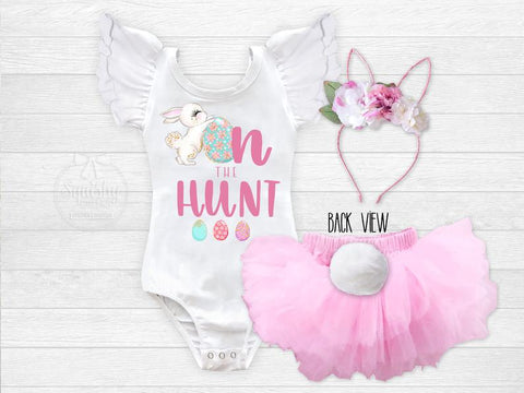 Girl's On the Hunt Easter Egg Hunt Outfit