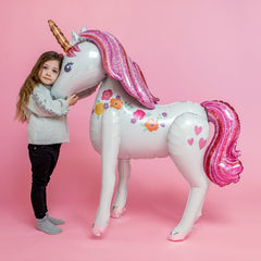 "46"" Life Size Unicorn Balloon"