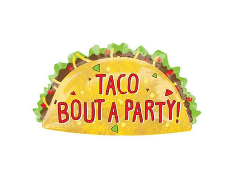 "33"" Taco Bout A Party Balloon"