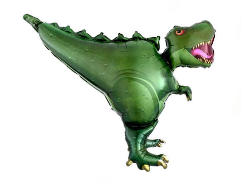 "36"" Green Dinosaur Balloon"