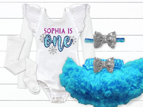 Frozen Winter Wonderland Birthday Outfit