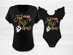 Halloween Mommy and Me Fab-boo-lous Tops