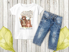Boy's Personalization Happy Father's Day Top