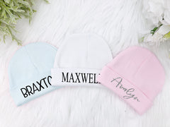 Newborn Baby Personalized Hat