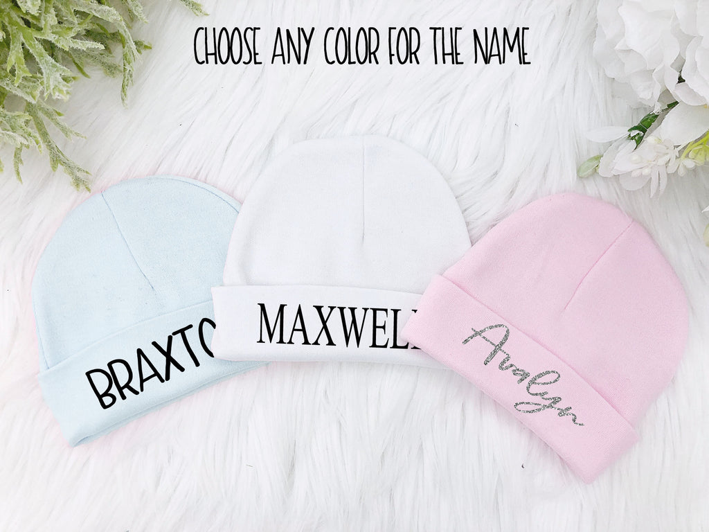 5d5f967d66a74 Newborn Baby Personalized Hat