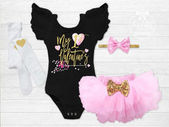 Girl's My 1st Valentine's Day Outfit