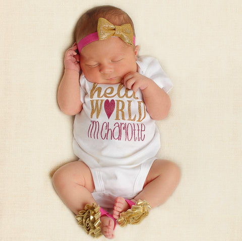 Hello World Personalized Outfit