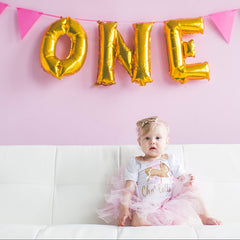 Girl's Personalized Carousel Birthday Outfit