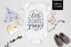 Little Answered Prayer Newborn Baby Onesie®