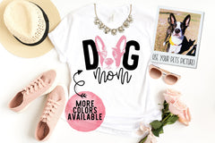 Personalized Dog Mom Custom Photo Shirt