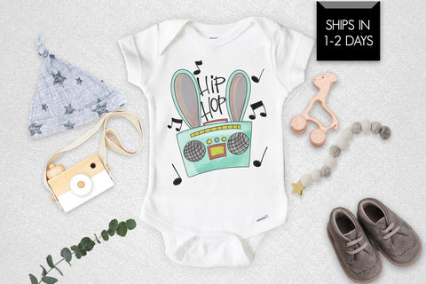 Hip Hop Funny Easter Baby Onesie®