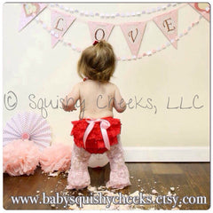 Lace Bloomers w/ Bow