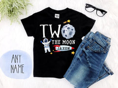 Boy's Space Two The Moon Outfit
