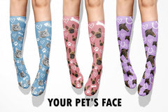 Custom Photo Pet Socks