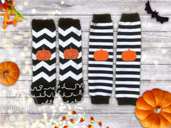 Halloween Pumpkin Leg Warmers