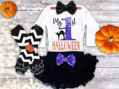 Girl's My 1st Halloween Outfit