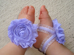 Light Purple Ruffle Piggy Petals