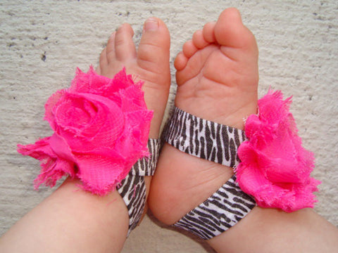 Hot Pink Zebra Piggy Petals