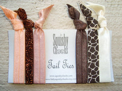 Earth Tone Knotted Hair Ties & Headbands