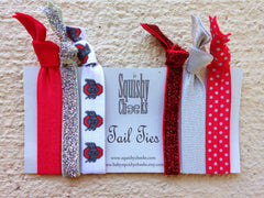 Ohio State Knotted Hair Ties & Headbands