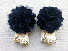 Black and Gold Cheetah Piggy Petals