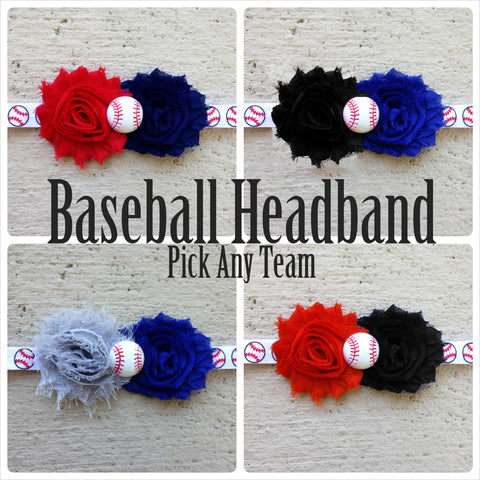 Baseball Headbands - PICK YOUR TEAM