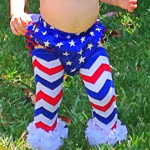 BLOWOUT 4th of July Leg Warmers