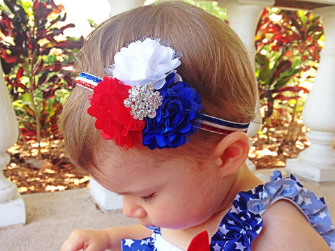 Girl's 4th of July Headband