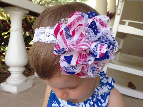 Large 4th of July Headband