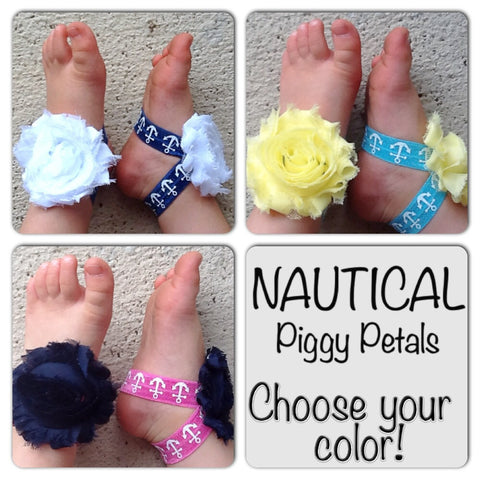 Nautical Anchor Piggy Petals