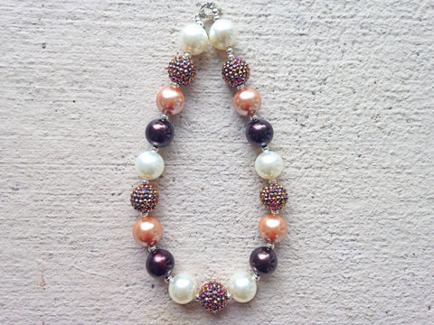 BLOWOUT Brown Chunky Necklace