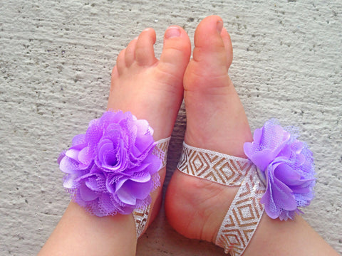 Purple and Gold Aztec Piggy Petals