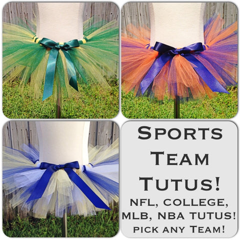 Sports Team Tutu - CHOOSE YOUR TEAM