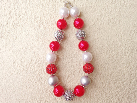CLEARANCE Radiant Red Bubble Necklace