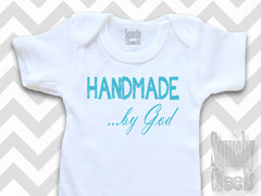 Handmade by God Christian Baby Boy Top